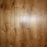 Engineered oak floor boards with a medium stain and top coat of 3032 osm hard wax oil satin matt